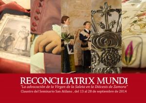 Cartel exposicion Reconciliatrix Mundi Saleta Zamora Small