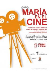 Maria en el Cine Saleta Zamora Cartel