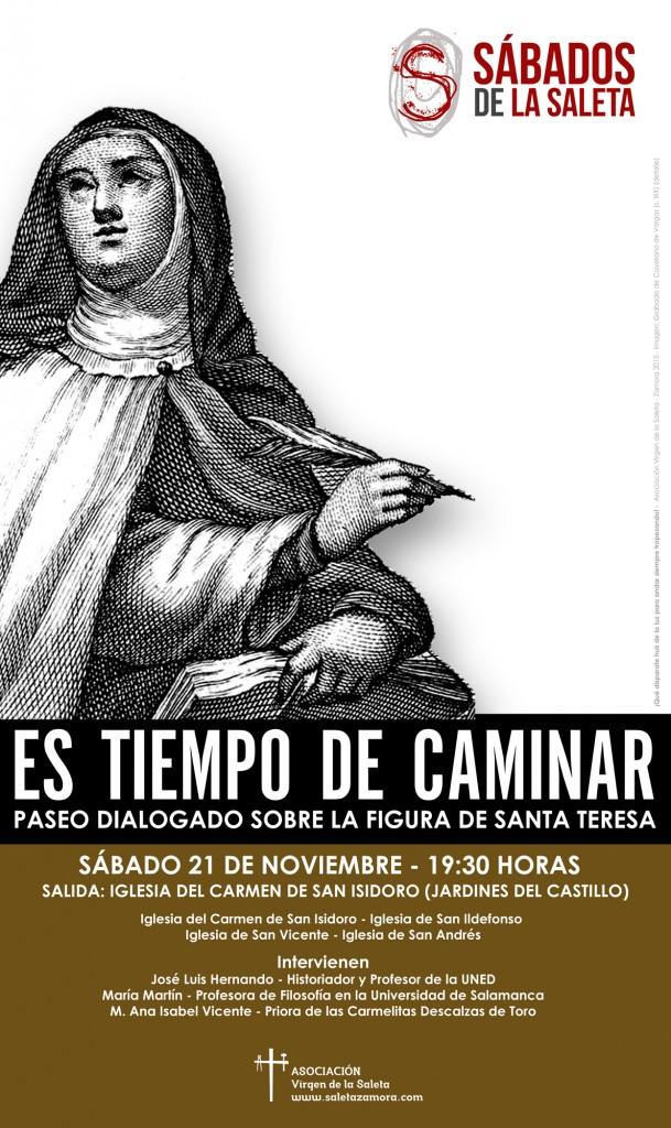 Tiempo de Caminar Santa Teresa Saleta Zamora 2015_Small