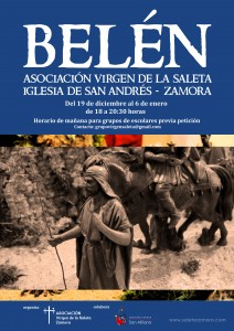 Cartel Belen Saleta 2015 small