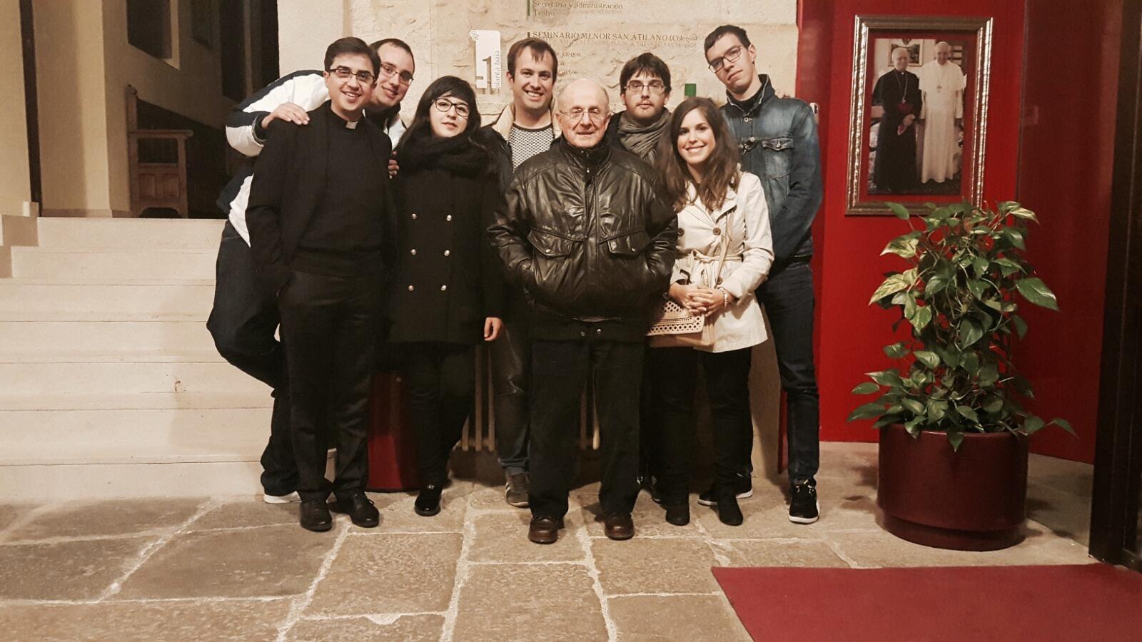 Visita Padre Gerardo Misioneros Saletinos
