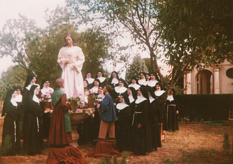 Virgen de la Saleta Monasterio de Santa Clara Zamora