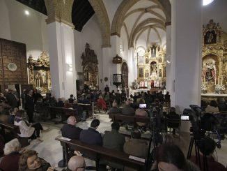 SEVILLA. 25.11.18. Monseñor Asenjo oficia misa en la iglesia de Santa Catalina. FOTO: JUAN FLORES. ARCHSEV.